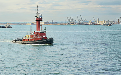 TUG Boat New York Harbor
