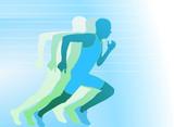 Läufer- Sprinter poster