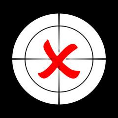 icon, wrong