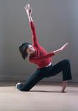 jeune femme mouvement chorégraphie danse poster