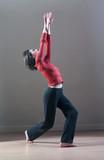 jeune fille chorégraphie de danse poster