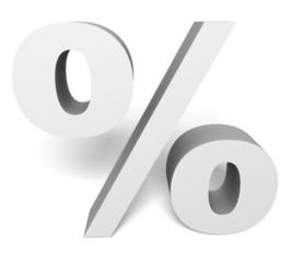 procent discount white