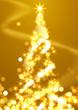 光のクリスマスツリー