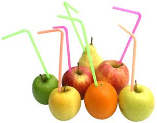 fruit boisson jus pomme orange poire