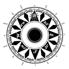 high resolution ancient compass