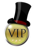 button icon vip zylinder gentleman gentlemen poster
