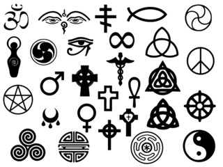 Sacred healing symbols