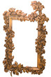 frame with a decorative pattern