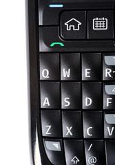 Macro mobile phone detail
