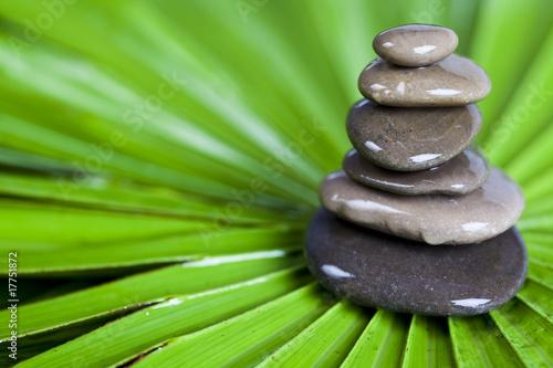 Stone pillar, zen