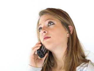Beim Telefonieren
