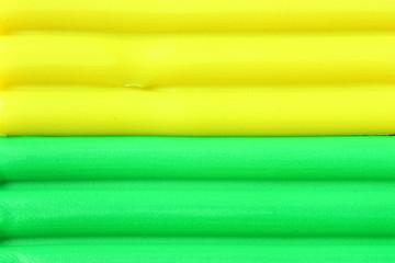 Bright plasticine