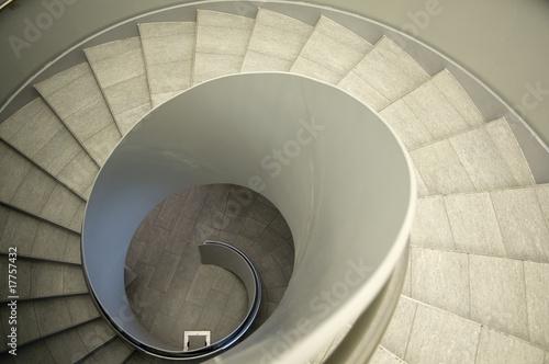 Leinwanddruck Bild Spirale nach unten