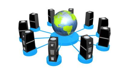 netzwerk 3d