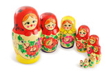 Group of Russian Dolls