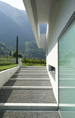 modern house , detail