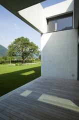 detail modern house