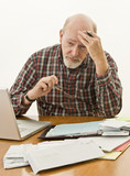 Retirement Money Worries poster