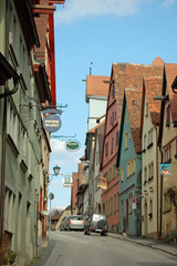 A Street in Rothenburg,Germany