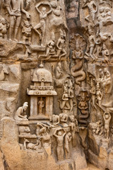 Arjuna's Penance Monument