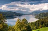 Fototapety Millstättersee lake Millstatt Austria