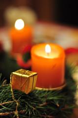 Christmas candles Adventkranz