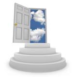 Open Door to New Opportunities poster