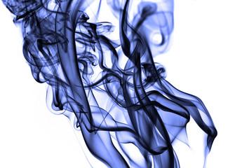 large violet smoke