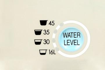 washing machine level indicator