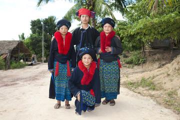 Menschen von Laos, Volksgruppe Yao