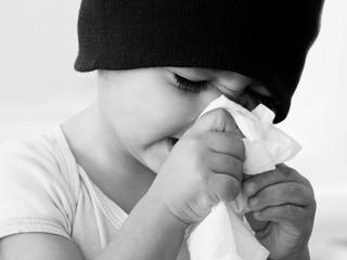 bambino con il reffreddore