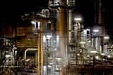 Öl Rafinerie im Detail poster