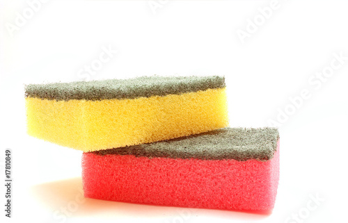 TWO COLOR SPONGES