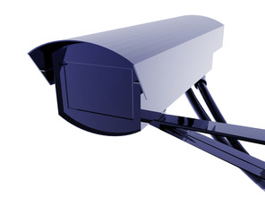 Security camera illustration