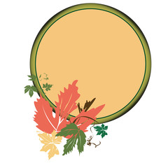 Autumn medalion
