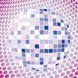 Velvet discoball poster