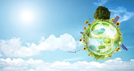 Clean environment concept banner