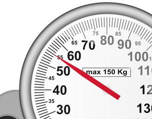 pèse personne sur 55 kg