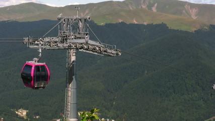 Funicular on the mountain