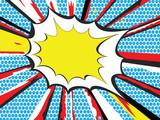 Pop Art style explosion - 17833698