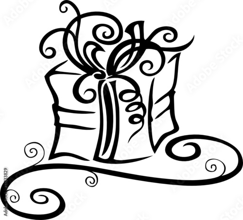 weihnachten geschenk geburtstag stockfotos und. Black Bedroom Furniture Sets. Home Design Ideas