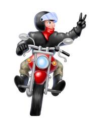 greeting rider