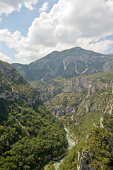 Gorges du Verdon from viewpoint