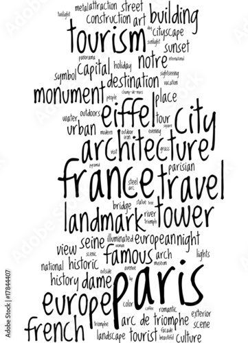 XtravaganT Paris Postcard © XtravaganT