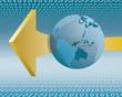 weltweiter Datentransfer