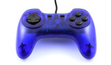Blue gamepad poster