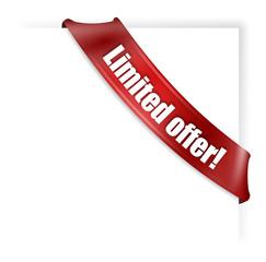 Limited offer banner