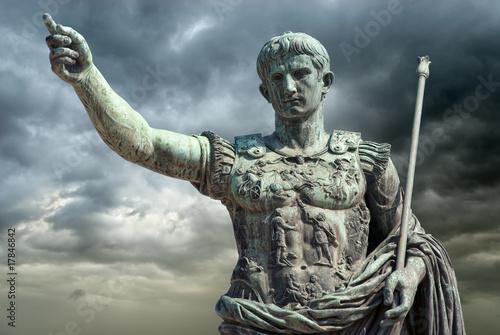 Papiers peints Statue Augusto (Gaius Iulius Cæsar Octavianus Augustus), Roma