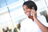 Fototapety Pretty African Business Woman