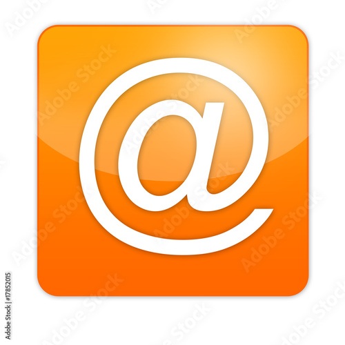 web icon orange